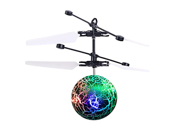 Clearance Deal! EpochAir Mini Aircraft Helicopter - Flying Ball with LED Flashing Light