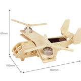 DIY Wooden Solar Powered Aircrafts - V22