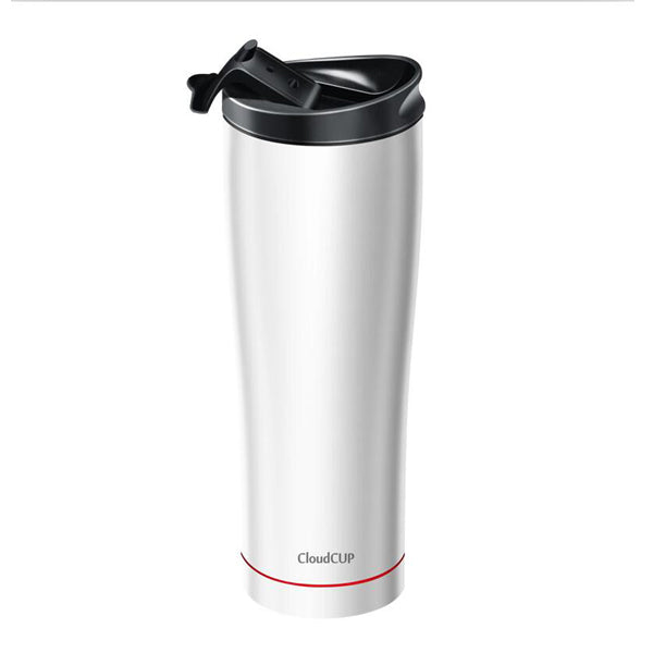 Vson Cloud Cup - Hydration Monitor Smart Vacuum Mug (White)