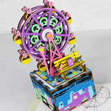 DIY Wooden Music Box - Ferris Wheel