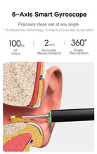 BEBIRD X17 Pro Smart Visible Otoscope Ear Cleaner