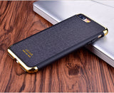 Clearance Deal! USAMS Elegant Series Plating Three-splicing anti-knock Case For iPhone 8/7 & 8+/7+