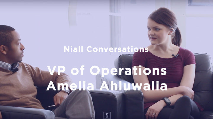 Niall Conversations | Episode 3 | VP of Operations Amelia Ahluwalia