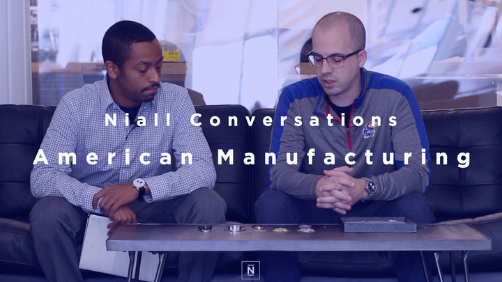 Niall Conversations | Episode 2 | American Manufacturing (Video)