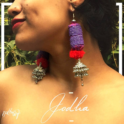Jodha (Purple) - The Ethnic Fix - Dubai - UAE