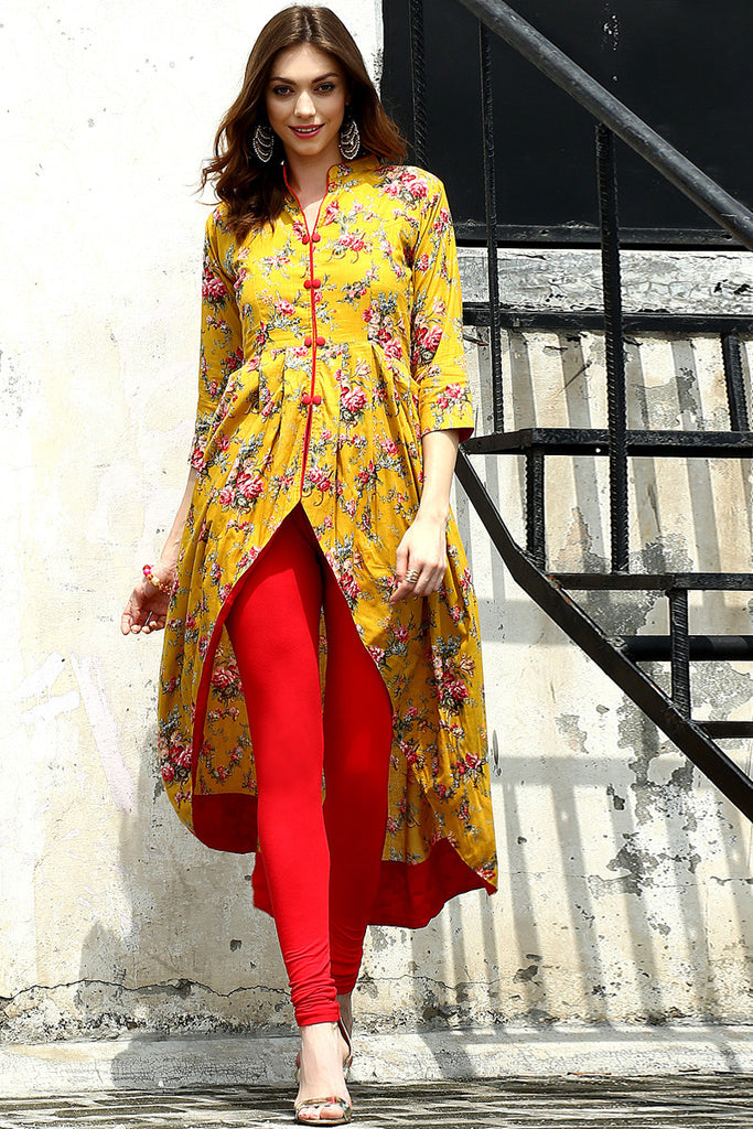 Marigold Shift Tunic - The Ethnic Fix - Dubai - UAE