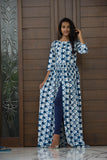 Pearl And Blue Cape - The Ethnic Fix - Dubai - UAE