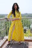 Citrus Yellow Cape - The Ethnic Fix - Dubai - UAE