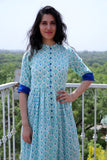 Cyan and Blue Set - The Ethnic Fix - Dubai - UAE