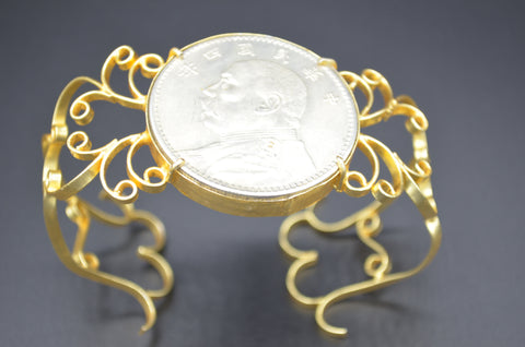 Coin Cuff - The Ethnic Fix - Dubai - UAE
