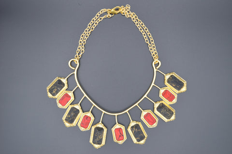 Bhatti Stone Necklace - The Ethnic Fix - Dubai - UAE