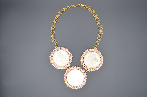 Coin and Coral Necklace - The Ethnic Fix - Dubai - UAE
