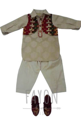Pathani Kurta Set - The Ethnic Fix - Dubai - UAE