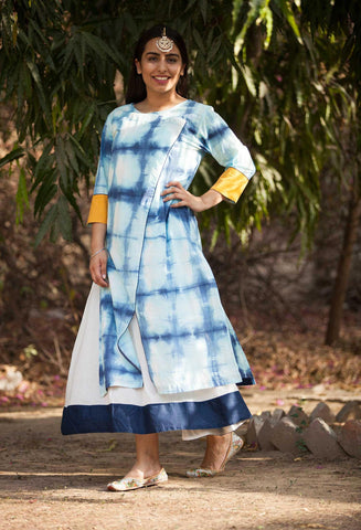 Bluestone Twin dress - The Ethnic Fix - Dubai - UAE