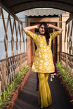 Mustard Garara set - The Ethnic Fix - Dubai - UAE