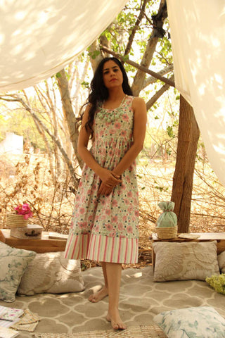 Flora Dress - The Ethnic Fix - Dubai - UAE