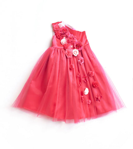 Strawberry Wine Gown - The Ethnic Fix - Dubai - UAE