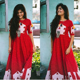 Red Cage Dress - The Ethnic Fix - Dubai - UAE