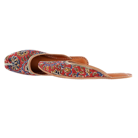 Kalamkari Red - The Ethnic Fix - Dubai - UAE