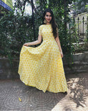 Sunflower Gown - The Ethnic Fix - Dubai - UAE