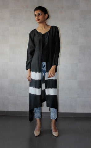 Black Batik Cape - The Ethnic Fix - Dubai - UAE