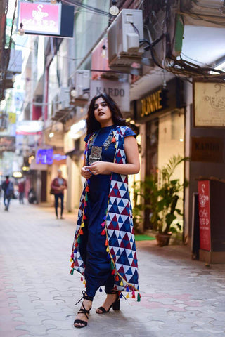 Blue Urban Desi Set - The Ethnic Fix - Dubai - UAE