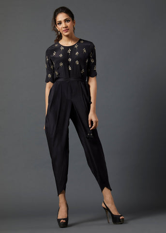 Black Jumsuit - The Ethnic Fix - Dubai - UAE