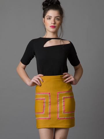 Form A-Line Skirt - The Ethnic Fix - Dubai - UAE