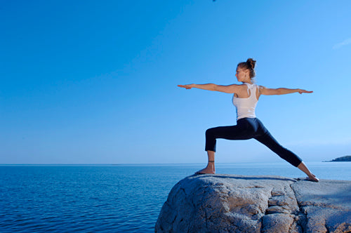Warrior Pose – Virabhadrasana