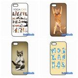 Cool Design Yoga Cats Phone Cases