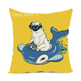Puppy Pets Cushion Cover