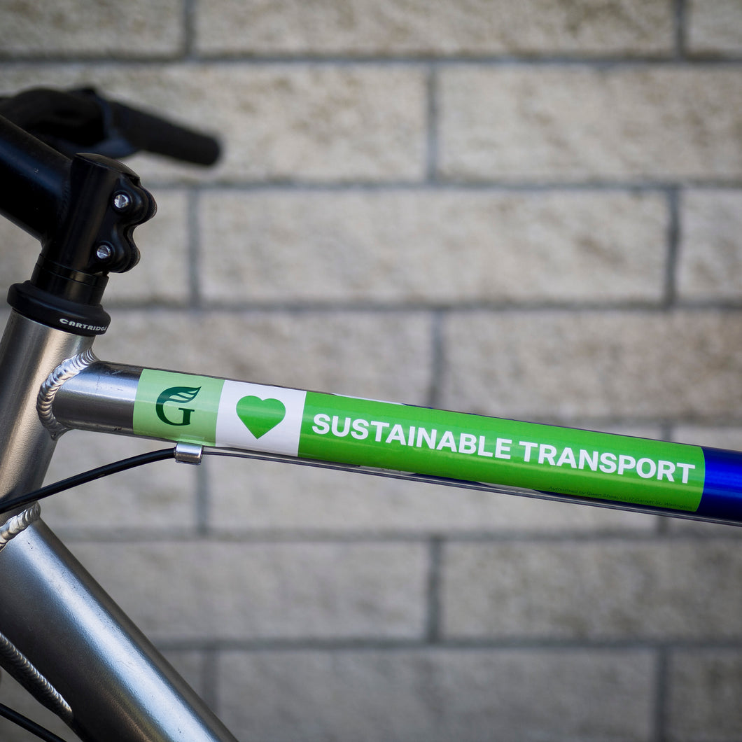 Stickers - Sustainable Transport: Bike Stickers