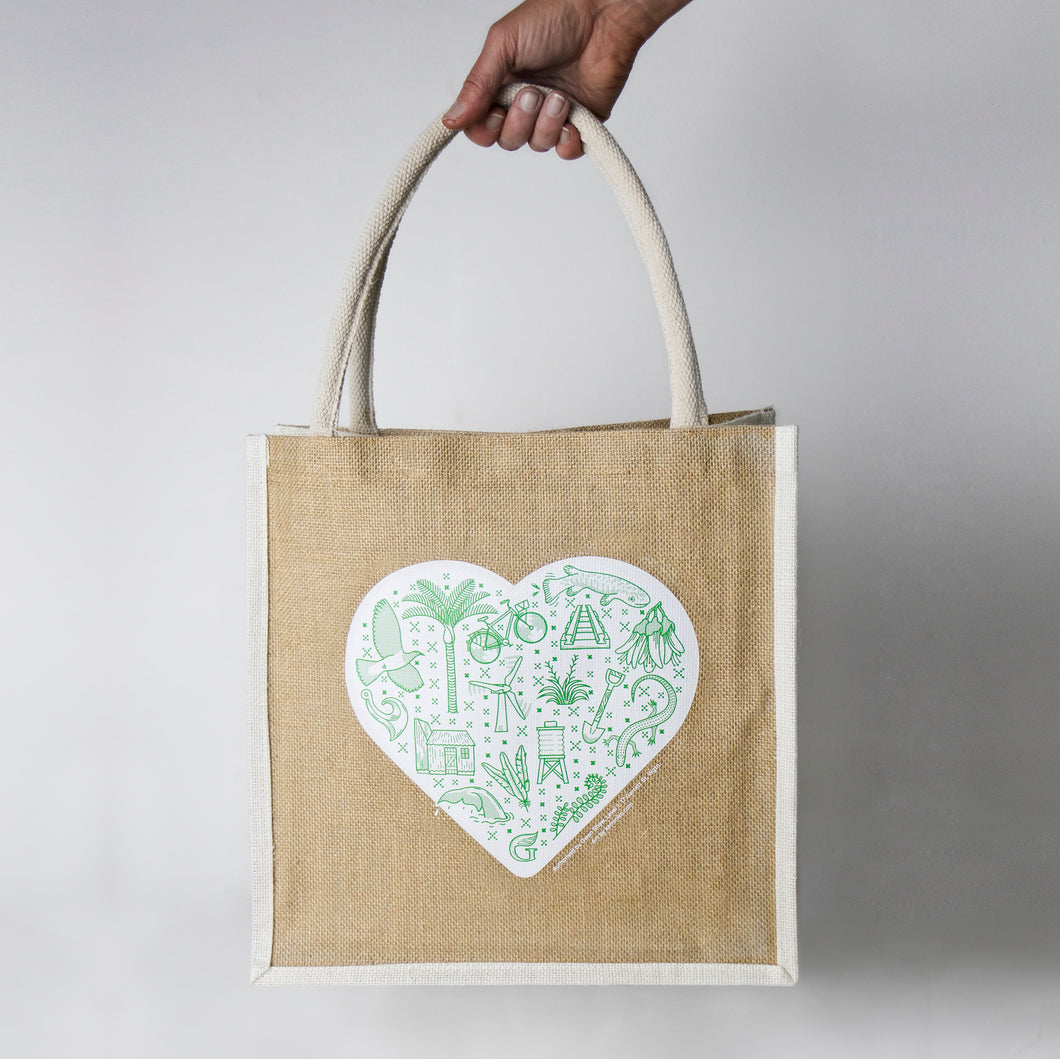 2019 Jute Shopping Bag
