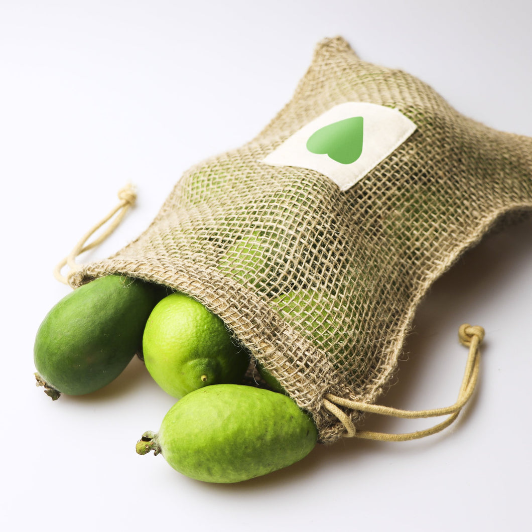 Green Party Jute Produce Bag