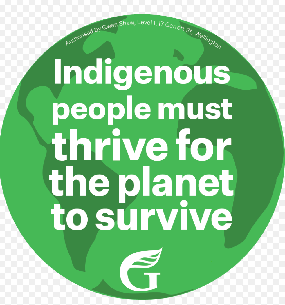 Indigenous people must thrive for the planet to survive  - Stickers