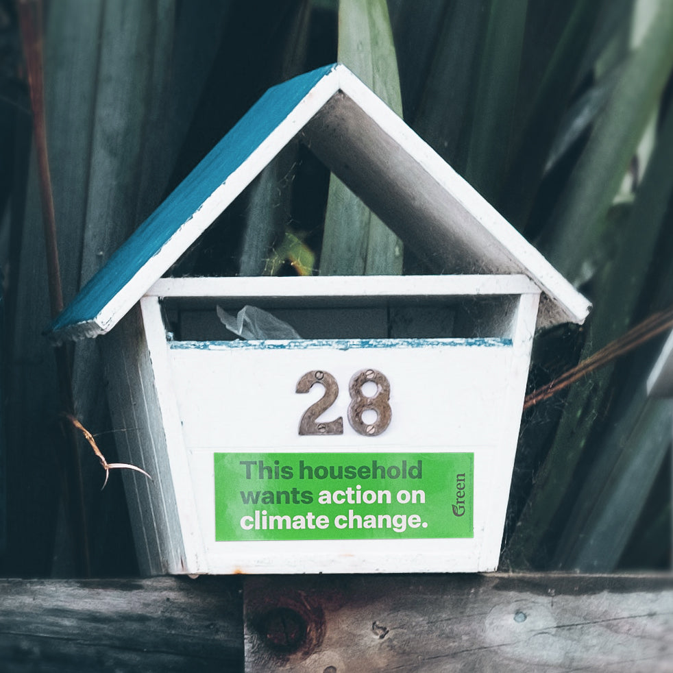 Stickers - Climate Action: Letterbox