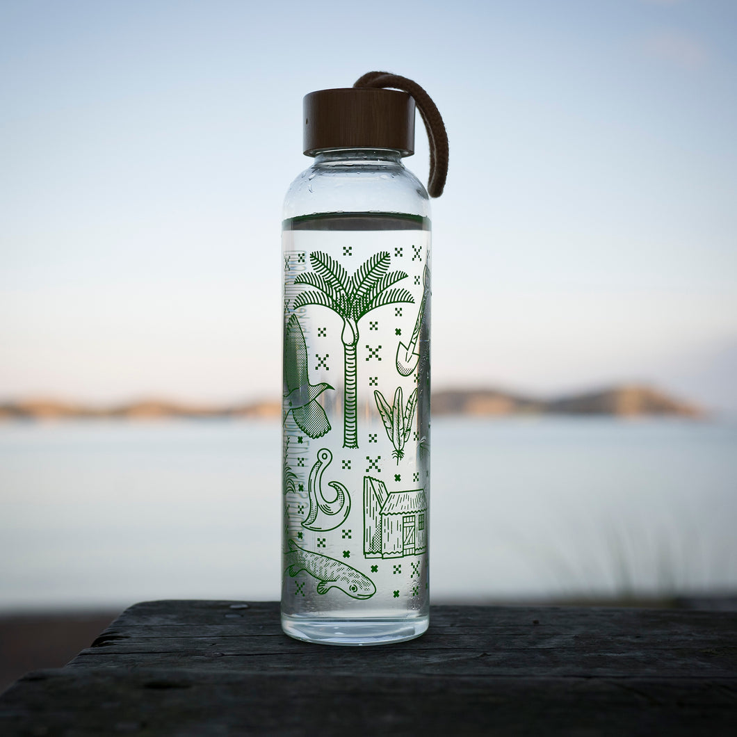 2019 Premium Glass Water Bottle