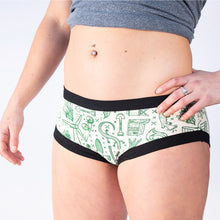 Green Party Thunderpants 2020 - Womens HIPSTER