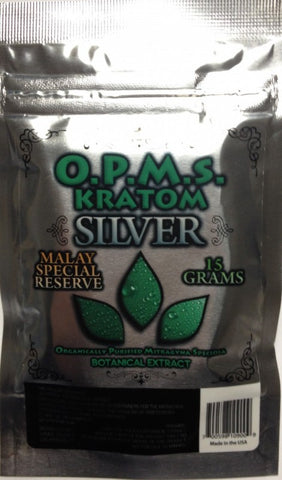 OPMS Kratom Silver Malay Special Reserve