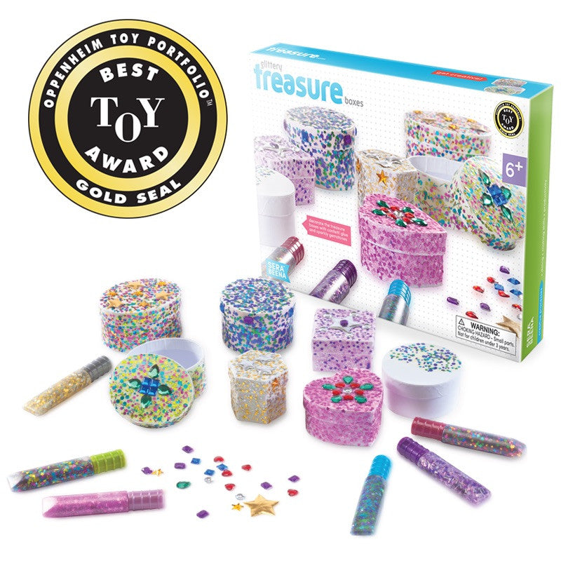 Serabeena Glittery Treasure Boxes wins Gold!