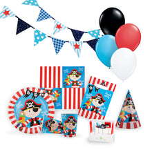 Load image into Gallery viewer, Pirate Birthday Party Kit