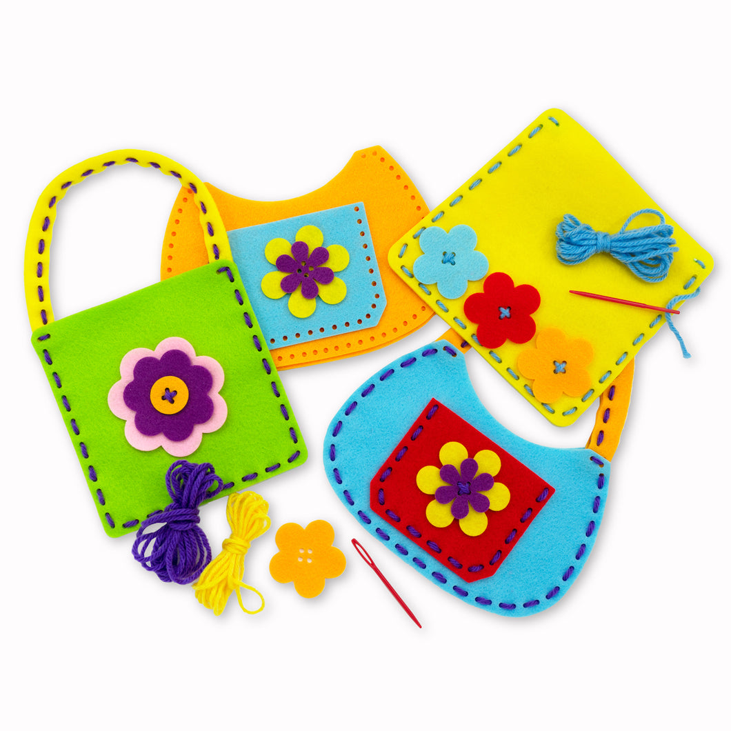 Sew Your Own Felt Bags