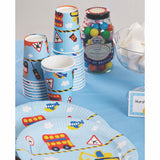 Construction Party Supplies Kit for 12