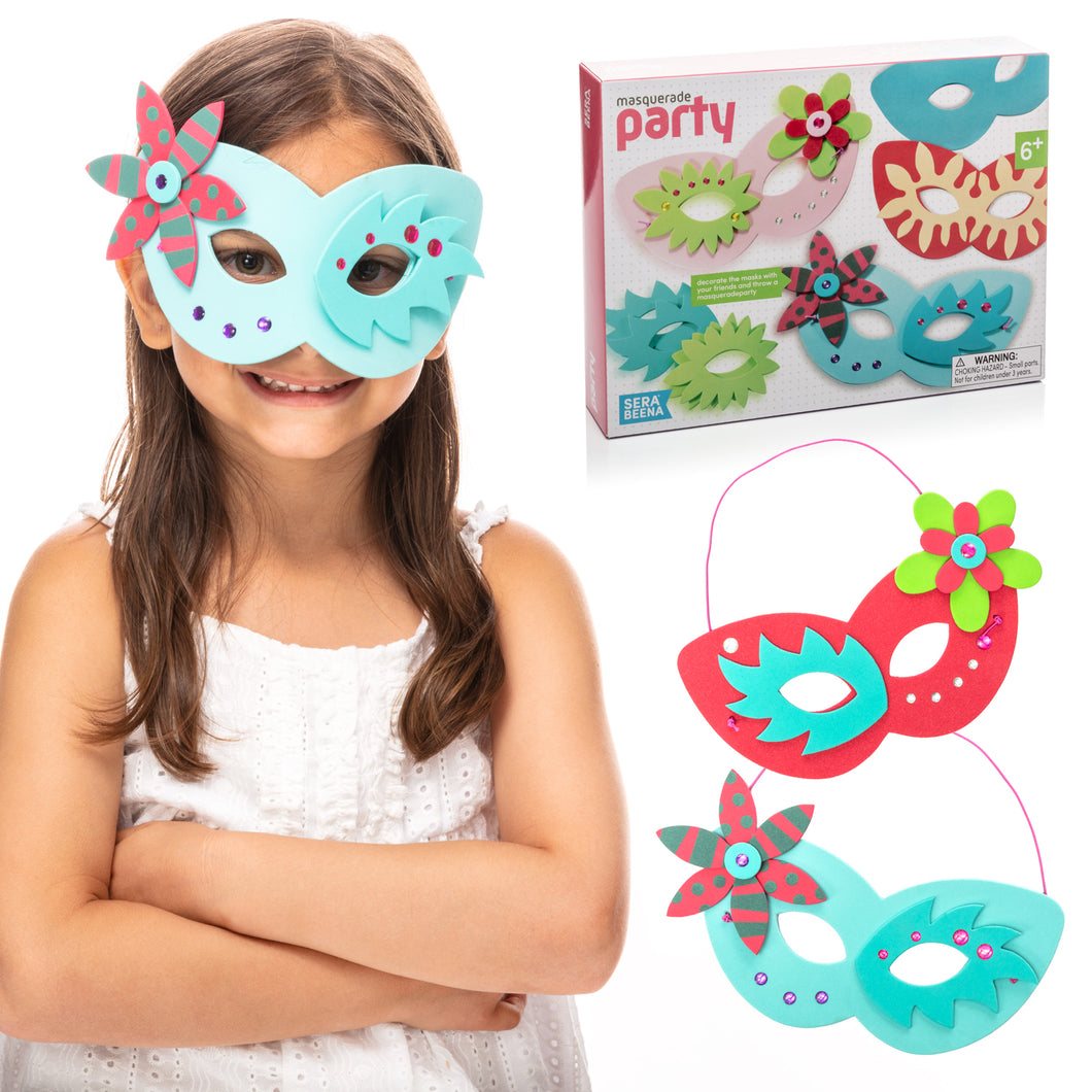Masquerade Party - Make Your Own Mask Kit