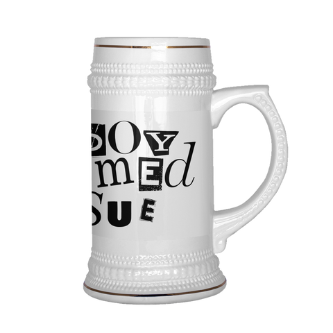 """Boy Named Sue"" (black print) - Beerstein"