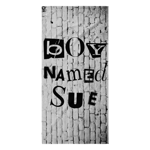 """Boy Named Sue"" - Beach Towel"
