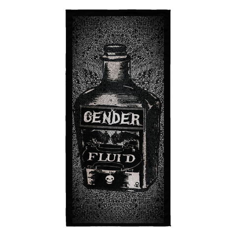 """Gender Fluid Bottle"" - Beach Towel"