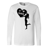 """I Love Women"" (black print) - Long Sleeve Tees sold by GenderUnique."