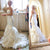 Simple Design Sweetheart White Chiffon Long Mermaid Elegant Wedding Dresses, BG0328