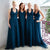 Newest High Waist Long A-line Tulle Bridesmaid Dresses For Wedding Party, BG0331
